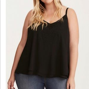 Torrid embroidered cami